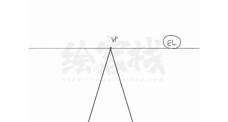 利用透视图法绘画的技巧!动漫插画中曲道和台阶的画法